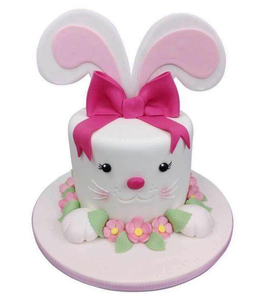 Bunny Ears Birthday Cake